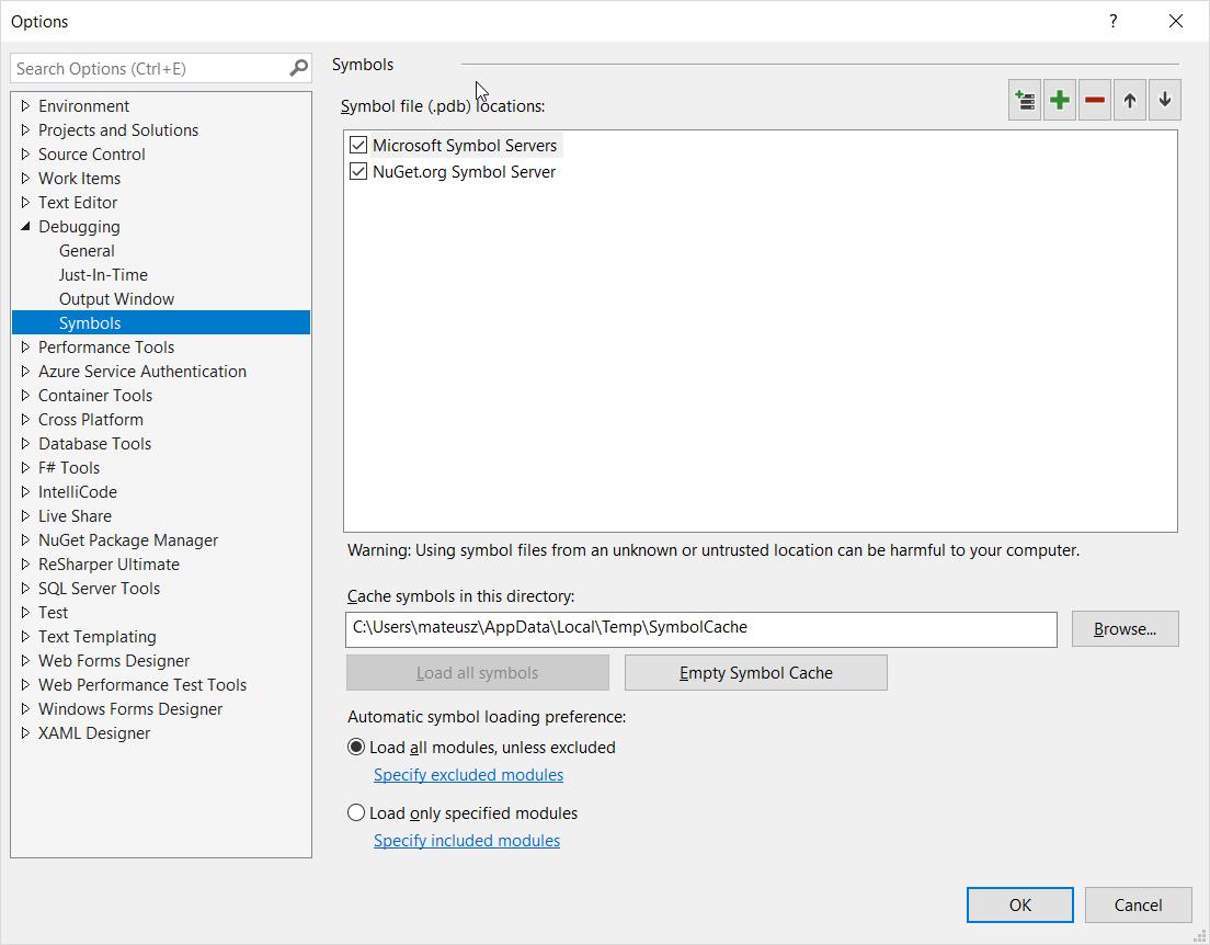 Debugging external libraries in Visual Studio   Urban On